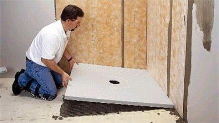 Construction harmonie salle de bain for Plancher salle de bain sous sol